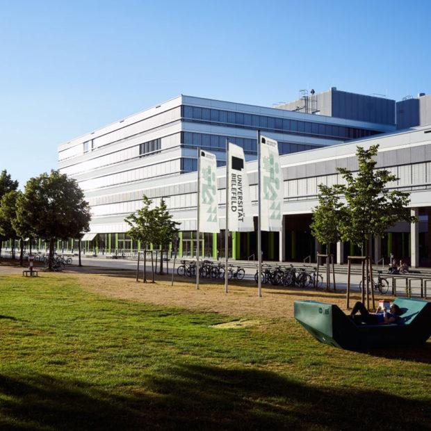 Campus of the Bielefeld University