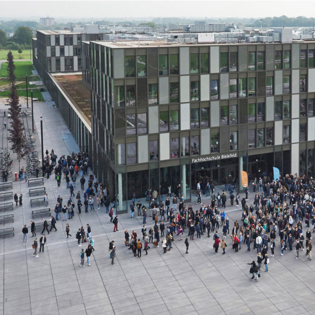 Campus of the Bielefeld University of Applied Sciences