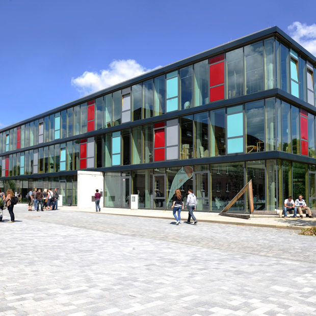Campus of the OWL University of Applied Sciences and Arts in Lemgo